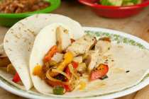 Leftover Turkey Fajitas from Macheesmo