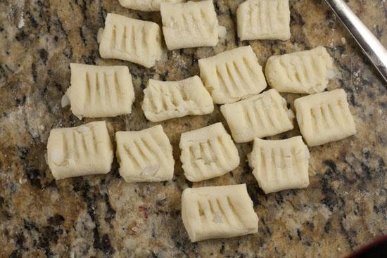forks - Mashed Potato Gnocchi