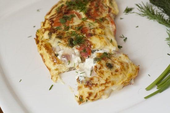 Lox Omelet recipe