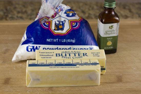 butter for Lemon Tea Cookies