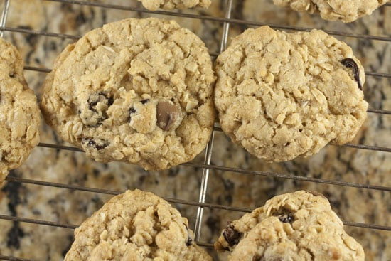 baked Brown Butter Oatmeal Cookies