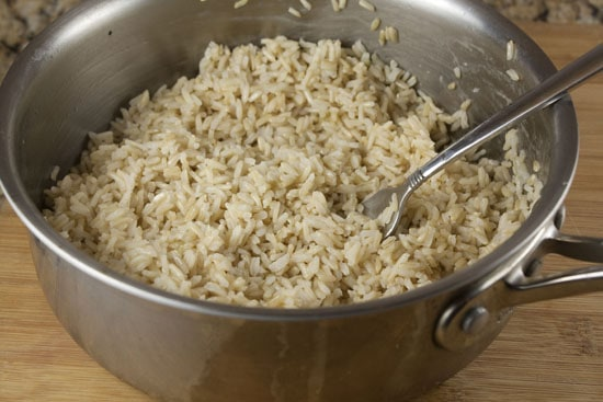 rice for Brown Rice Burgers