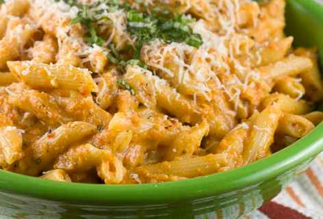Gin Penne Pasta