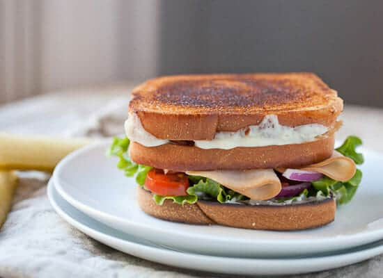 Grilled Cheese Club Sandwich