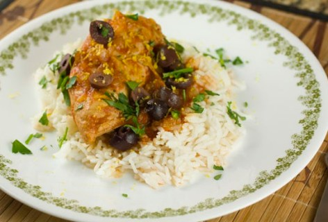 Slow-Cooker Chicken Provencal