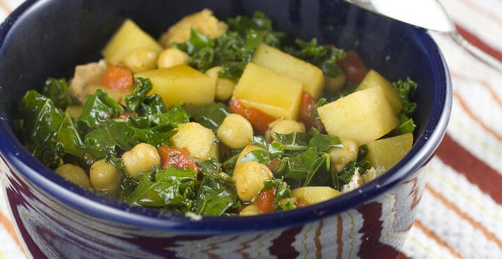 Thirty Minute Chickpea Stew