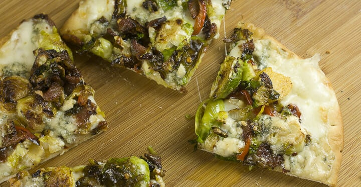 Brussel Sprout Flatbread