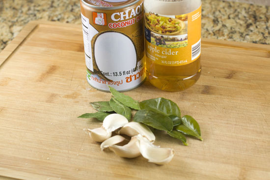 sauce stuff for Chicken Adobo