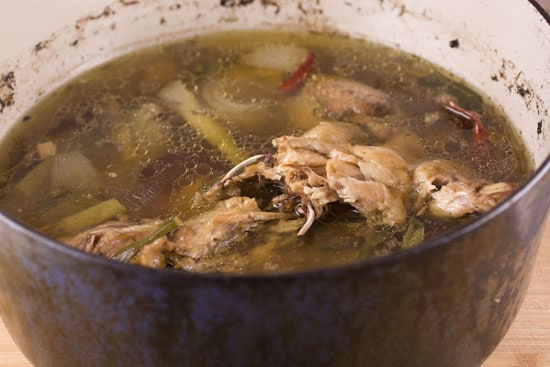 stock for hot and sour soup