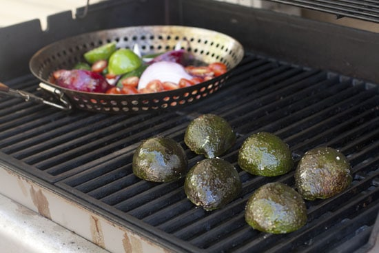 Grilling the Guacamole