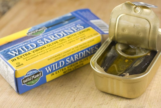 sardines - Sardine Sandwich