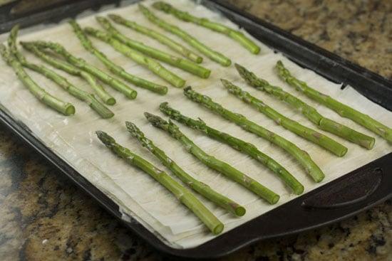 asparagus - Asparagus Phyllo Tart