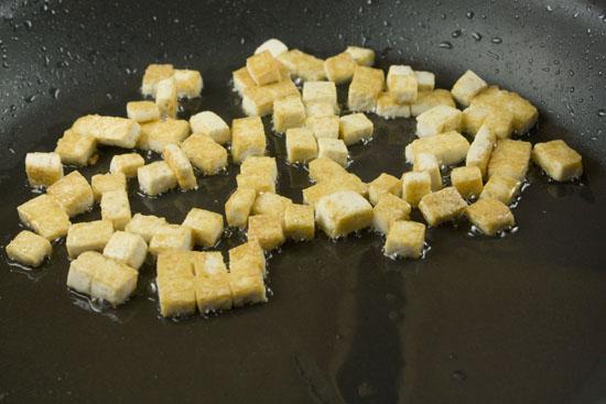 tofu cooking - Mango Soba