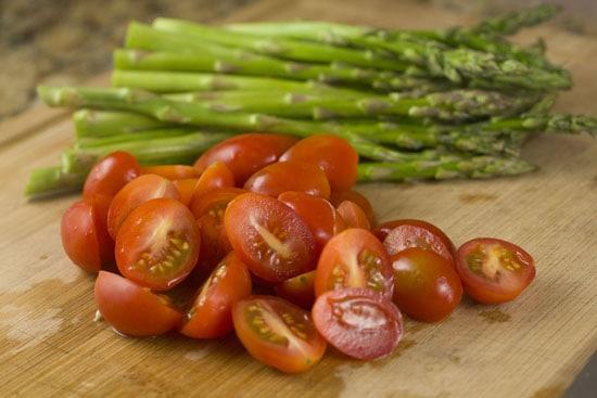 prepped - Asparagus Phyllo Tart