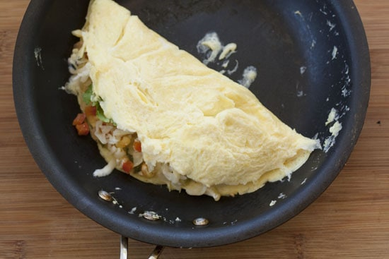 Corn Omelet recipe