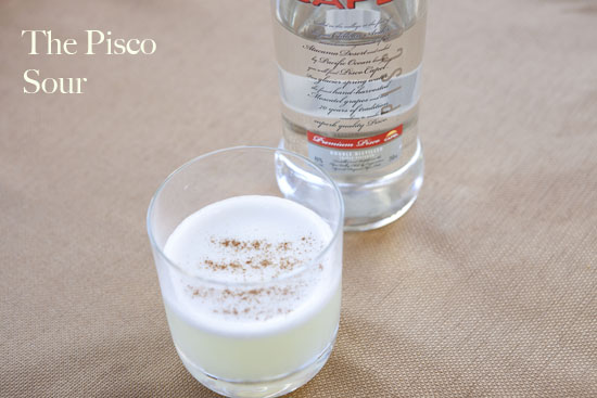 pisco sour - Egg White Cocktails