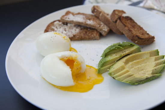 Soft Boiled Eggs recipe from Machessmo