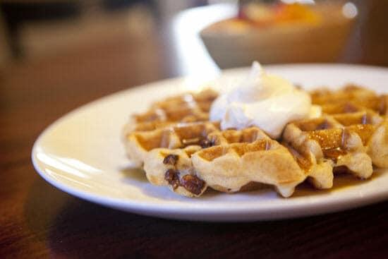 Pecan Waffles ~ Macheesmo