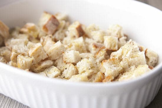 Quick croutons.