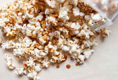 Spicy Maple Popcorn