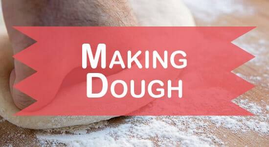 Making Homemade Pizza Dough