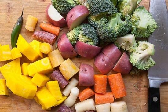 A rough chop - Homemade Veggie Nuggets