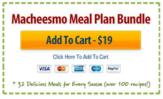 Macheesmo Meal Plan Packs - Macheesmo - meal plans