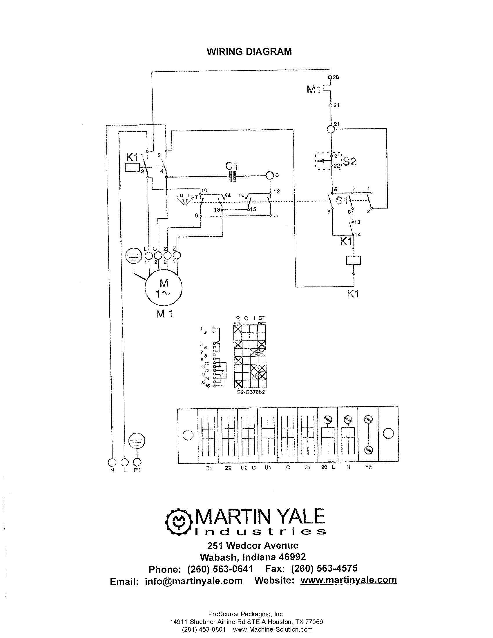 Yale Mpb040 E Wiring Diagram Erp030 Auto