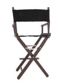 Director's chair in brown color HOT TOYS - Machinegun
