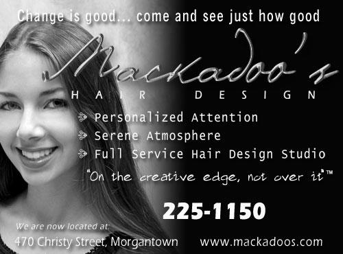 Mackadoo\u0027s Hair Design, Morgantown, WV Hair Salon
