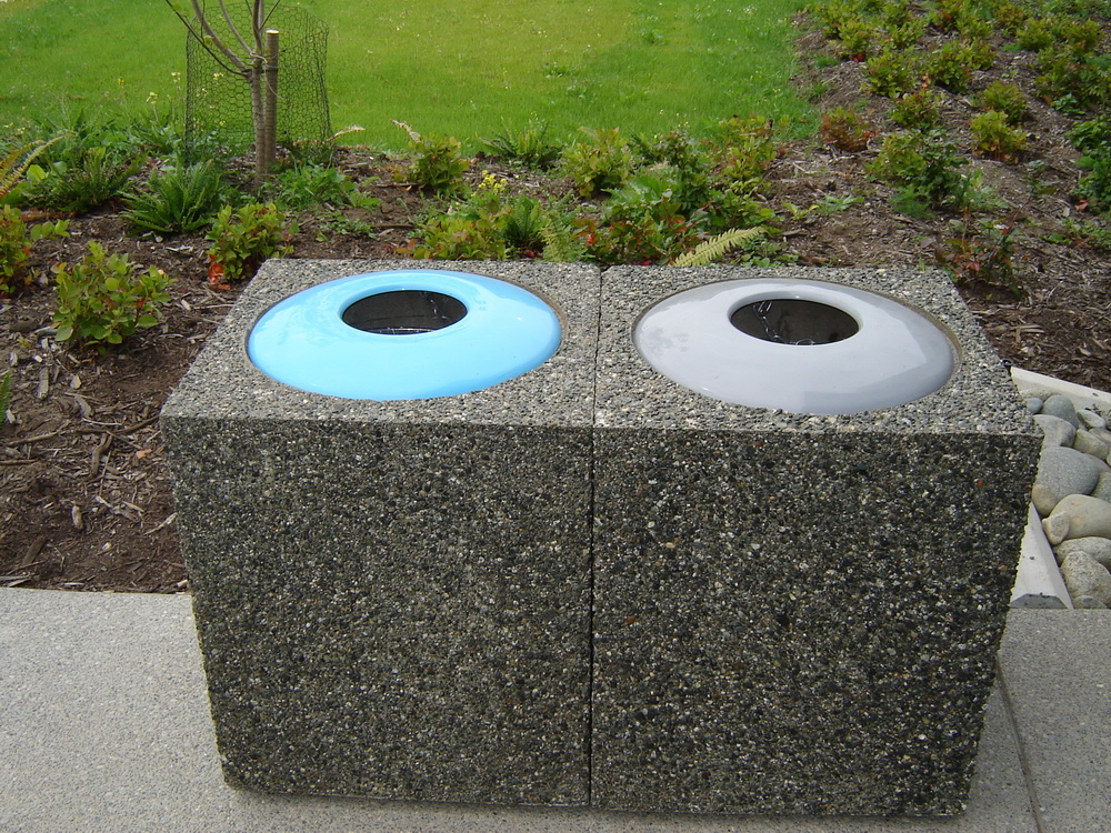 Square Garbage Container Style A Mackay Precast Products