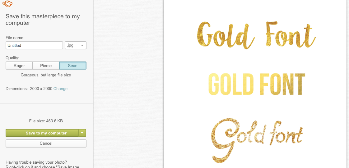 how to make words gold and glittery word mac
