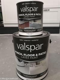 Inexpensive Flooring: How to Stencil Concrete Floors ...