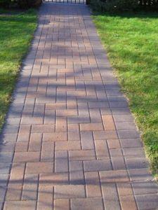 gardener surrey monoblock path