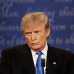 Bill Clinton At Presidential Debate