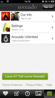 Avocado_settings