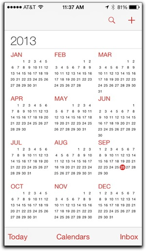 4 Tips for Using iOS 7\u0027s Calendar on Your iPhone \u2013 The Mac Observer