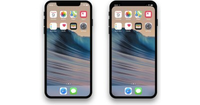 This Wallpaper Hides the iPhone X Notch - The Mac Observer
