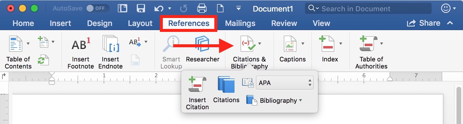 How to Format References Automatically Using Microsoft Word - The