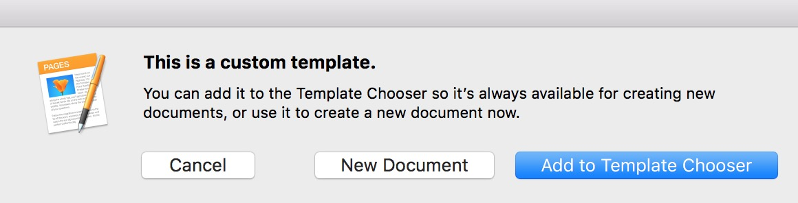 macOS Creating Templates in Pages and Word - The Mac Observer