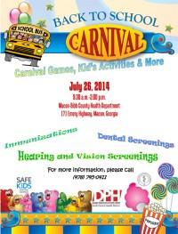 Back to School Carnival | Macon-Bibb County, Georgia