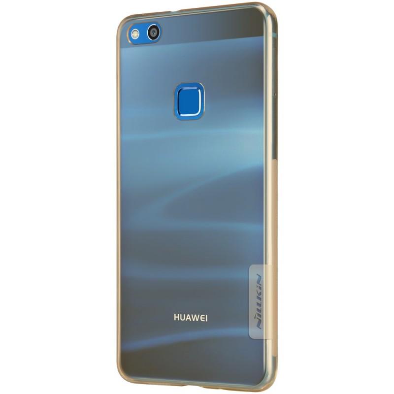 coque transparente huawei p10 lite bleu