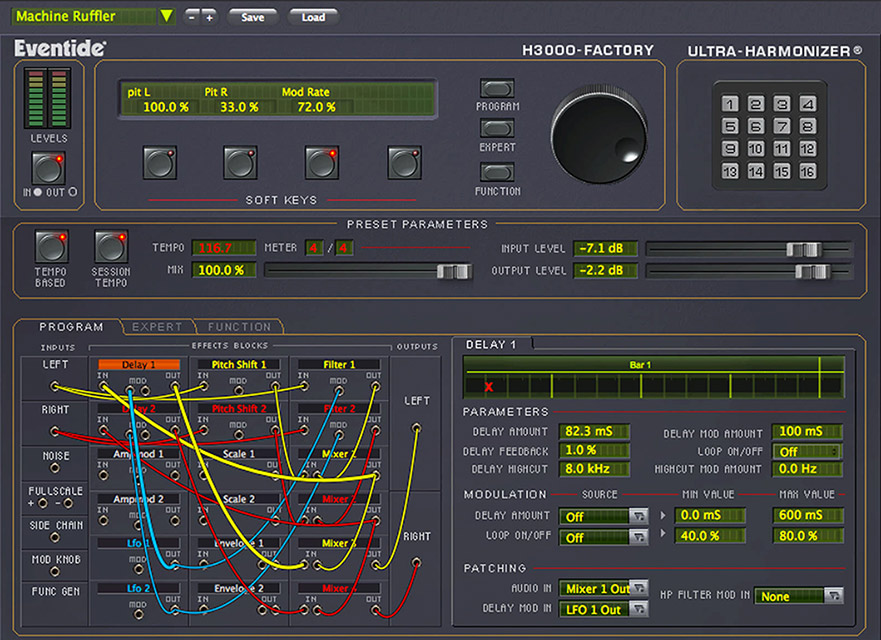 Eventide H3000 Factory Makes Harmony Native