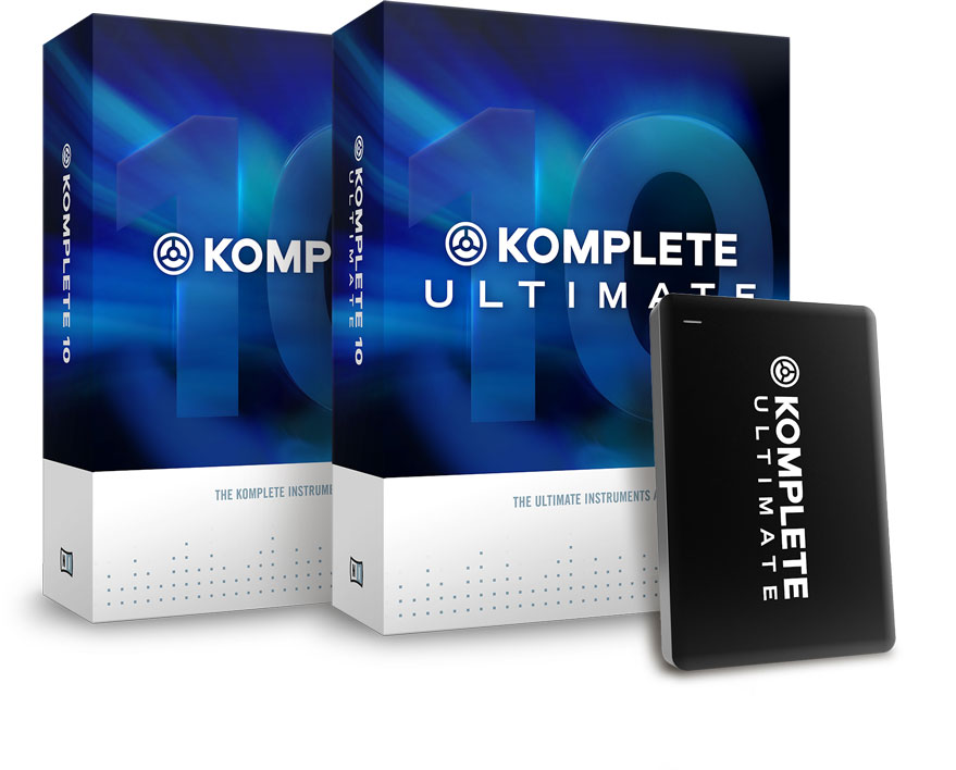 Komplete 10 and Komplete 10 Ultimate are Koming