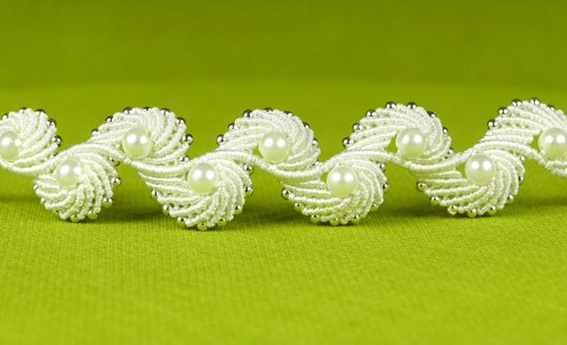Angel Wings Macrame Shell Bracelet