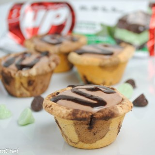 Mint Chocolate Chip Mini Protein Pies