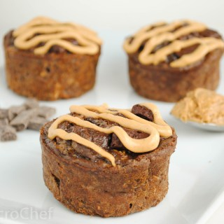 Chocolate Peanut Butter Protein Baked Oatmeal