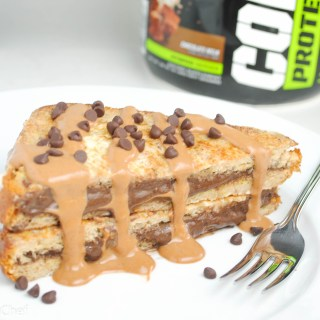 Chocolate Cream Protein French Toast