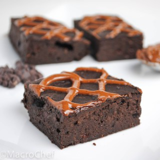 Hazelnut Fudge Protein Brownies