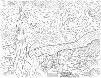 Vincent - Il Tuo Album di Van Gogh da Colorare - Van Gogh ...